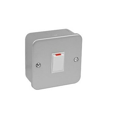 20 Amp Metal Clad Double Pole Switch