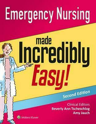 Emergency Nursing Made Incredibly Easy! by Lww Paperback Book (English)