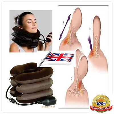 Relaxing Cervical Vertebrae Neck support Soft Air Pneumatic