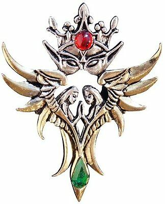 Pendant Angels of Oberon Amulet for Love Necklace Fantasy Gothic Fairy Briar