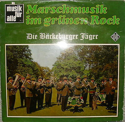 marschmusik im gr nen rock die b ckeburger j ger telefunken lp musik f r alle eur 18 90. Black Bedroom Furniture Sets. Home Design Ideas