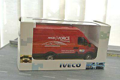 ROS-MODEL - IVECO FIAT - DAILY VAN 2006 Parcel Force  1:43 scale
