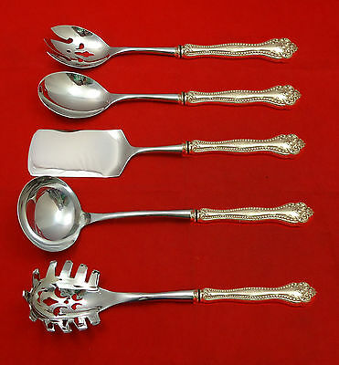 Raleigh by Alvin Sterling Silver Hostess Set 5pc HHWS  Custom Made