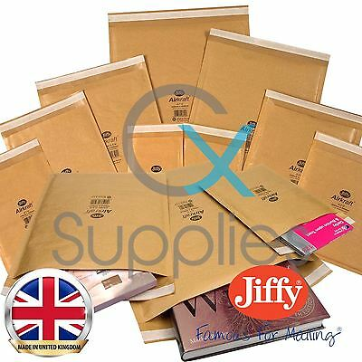 10 Jiffy Gold Padded Bubble Envelopes Bags - 260x345mm - JL5 Large