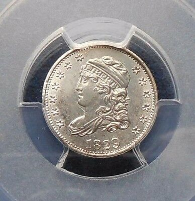 1829 HALF DIME CAPPED BUST  PCGS AU CLASHES on OBVERSE and REVERSE
