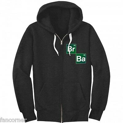 Breaking Bad sweatshirt officiel à capuche taille XL logo serie sweatshirt Br Ba