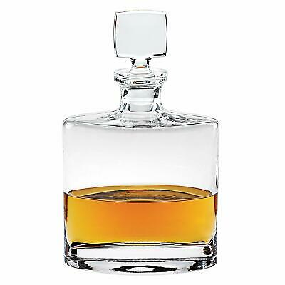 Whitney Old-Fashioned Handmade Crystal Decanter, 28 Oz Whiskey Carafe Lead Free