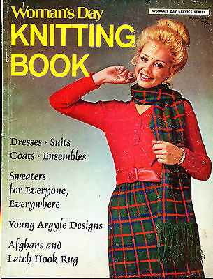 Vintage Womans Day Knitting Book No11 1970 Vg+ Magazine