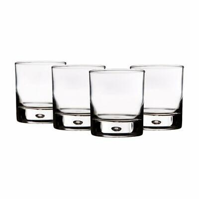 Galaxy Whiskey Drinking Glasses 4pc Rocks Set, Handmade Crystal, 10 Oz Lead Free