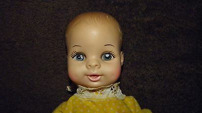 1970 HORSMAN BABY DOLL BC9 WITH MOVABLE ARMS AND LEGS DRINKS AND WETS 9""