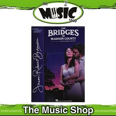 New The Bridges of Madison County Vocal Selections Music Book