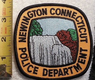 NEWINGTON CONNECTICUT POLICE PATCH (HIGHWAY PATROL, POLICE, EMS, SHERIFF)