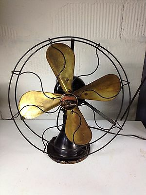 Vintage Peerless Front Oscillating Electric Fan