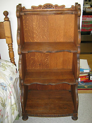 Antique 1920s S. Karpen & Sons Furniture Solid Oak Bookcase