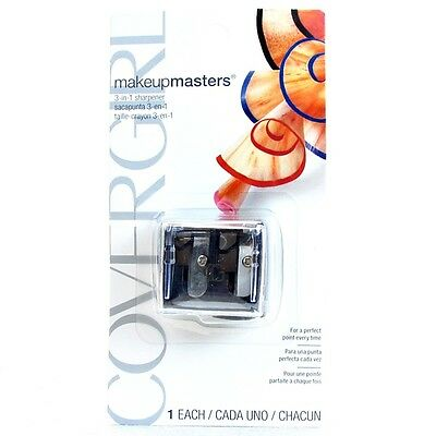 CoverGirl Makeup Masters 3 in 1 Sharpener *Triple Pack*