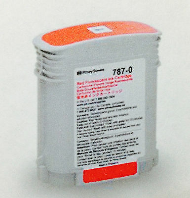 787-0 Pitney Bowes Fl Red Ink Cartridge (Original Pitney Bowes)
