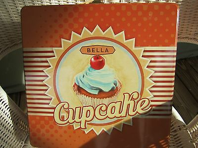 Bella Cupcake Maker in Decorative Tin, New No Box or Instructions