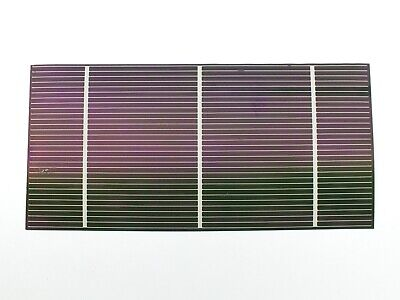 "Solopower 1.25 Watt CIGS Lightweight Thin Flexible Solar Cell 7.5"" x 3.75"""