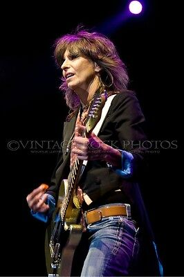 Chrissie Hynde The Pretenders Photo 8x12 or 8x10 in '09 UK Tour Live Concert s13