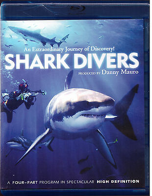 Shark Divers (Blu-ray Disc, 2012, 2-Disc Set) Series 193 Minutes Ocean Animals