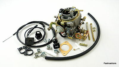 VW GOLF.JETTA.SCIROCCO.1457cc 1979-84 WEBER 34 TLP CARB/CARBURETTOR MANUAL CHOKE