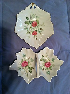MITTERTEICH BAVARIA GERMANY CHINA  ROSES 2 Small Dishes