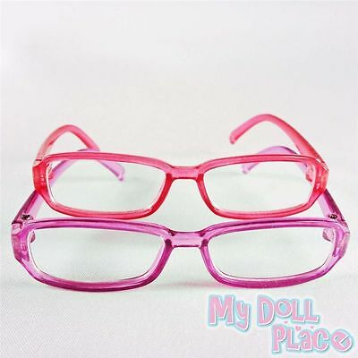 "2pc Glasses Pink Purple Plastic Accessories fit 18"" American Girl Doll Clothes"