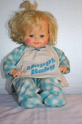 Vintage Horsman Talking Happy Baby Doll