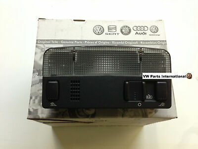 VW Golf MK4 GTI R32 Black Interior Reading Light Genuine New OEM VW Part