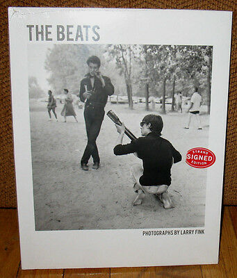 New Sealed SIGNED Larry Fink The Beats New York City Mexico On the Road America