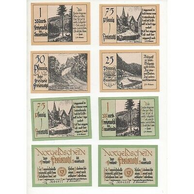 NOTGELD - FREIENOLH - 16 different notes - SERIE COMPLETE (F058) -.F058 ALLEM