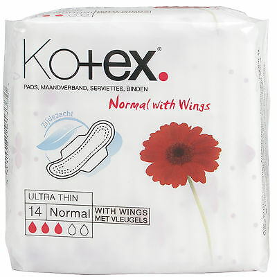 Kotex Ultra Thin with Wings – Normal