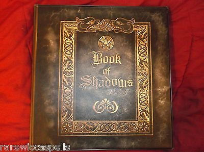 Real Witchcraft Wicca Pagan Book of Shadows Grimoire 250+ pgs Spells Rituals