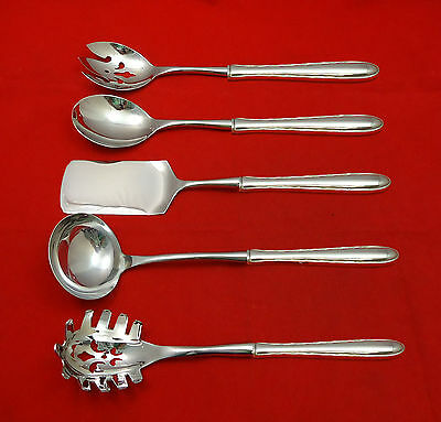 Silver Flutes by Towle Sterling Silver Hostess Set 5pc HHWS  Custom Made