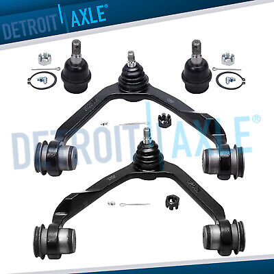 Ford F-150 F-250 Expedition 4WD 4 pc Upper Control Arm Ball Joint Kit