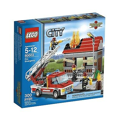 LEGO CITY FIRE EMERGENCY (60003) - BRAND NEW IN FACTORY SEALED BOX