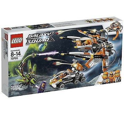 LEGO GALAXY SQUAD BUG OBLITERATOR (70705) - BRAND NEW IN FACTORY SEALED BOX