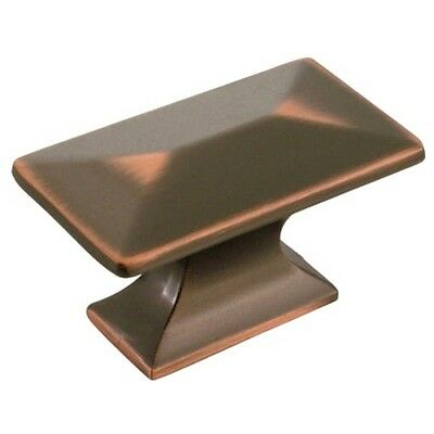 Belwith Hickory P2151-OBH Bungalow Cabinet Knob Rectangle Pull Oil-Rubbed Bronze