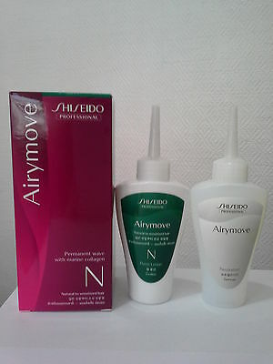 SHISEIDO Airymove permanent wave with marine collagen - N