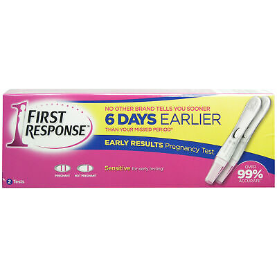 First Response Pregnancy Test 2 Tests