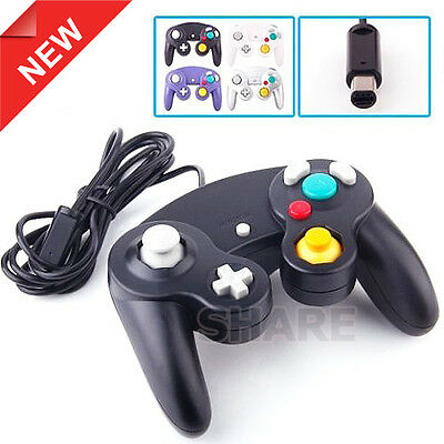 OZ New Dual Shock Gamepad Joypad for Nintendo Wii GC NGC GameCube Controller