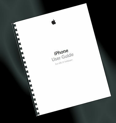 ~ PRINTED ~ Apple iPhone 5, 5s & 5c User Guide, Instruction Manual (iOS 7.1)