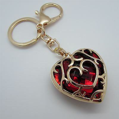 Amazing LEGEND OF ZELDA Inspired RED HEART Keyring - UK STOCK