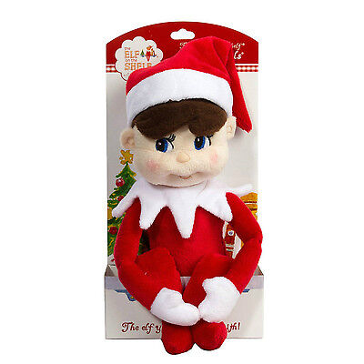 The Elf on the Shelf Light Skin Boy Plushee Pal A Christmas Tradition Plush NEW