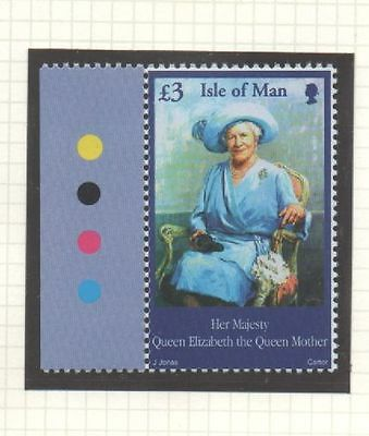 Isle of Man 2002 Queen Mother Commemoration £3 SG982 unmounted mint stamp