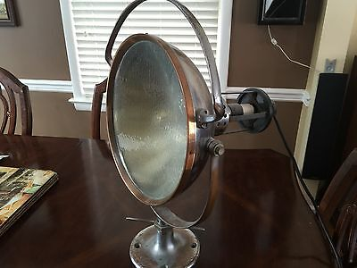 Industrial Vintage Dentist Spot light- Wilmot Castle company