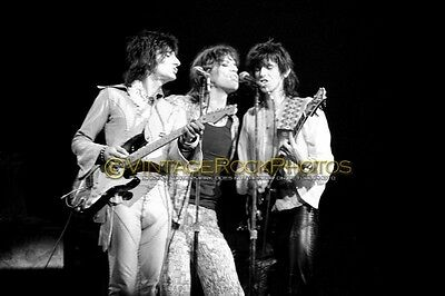 Rolling Stones Photo 8x12 or 8x10 inch 1975 MSG NYC NY Vintage Live Concert 27