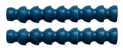 "1/2"" Hose Segment 320 mm  Adjustable Flexible Pipe TUBOFLEX 225.07 blue"