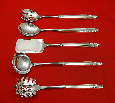Stradivari by Wallace Sterling Silver Hostess Set 5pc HHWS  Custom Made