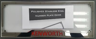 "Kenworth Branded Number Plate Surround ""standard Size"" (Hm-Npc1-Kw)"